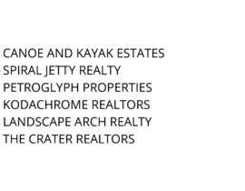 #91 para Brand Name for Real Estate Agent/Team por KavitaPanch