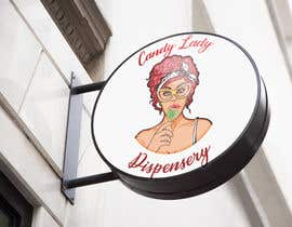 Nro 72 kilpailuun Candy lady logo käyttäjältä Alif20002