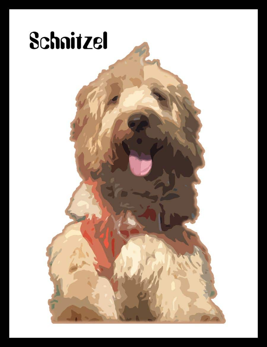 Contest Entry #                                        8                                      for                                         Create Cartoon Picture / Photo of a Dog