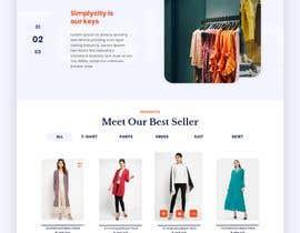 #9 для Bespoke Clothier Homepage Mock-Up от asu5a0ae85373caa