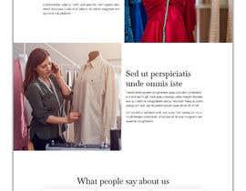 #13 для Bespoke Clothier Homepage Mock-Up от rafiulahmed24