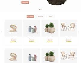 nº 7 pour Homepage Mock-Up for Amish Furniture Website par bordersandlines