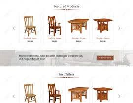 nº 16 pour Homepage Mock-Up for Amish Furniture Website par pardworker