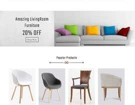 nº 9 pour Homepage Mock-Up for Amish Furniture Website par ravisondagar125