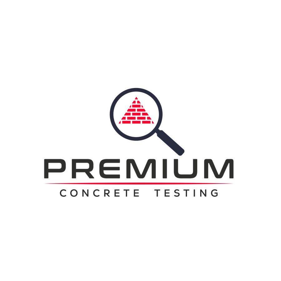 Contest Entry #                                        86                                      for                                         Design a Logo for a Concrete Testing Company