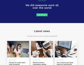 nº 20 pour Create / Clone company website par Sid739