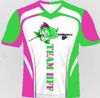 Contest Entry #                                        33                                      for                                         Team Fishing Shirt HFF