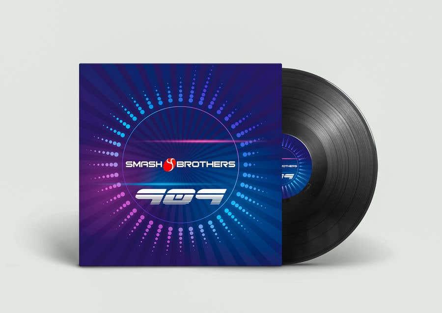 Kilpailutyö #                                        22                                      kilpailussa                                         Simple Track Cover for Techno Music Track