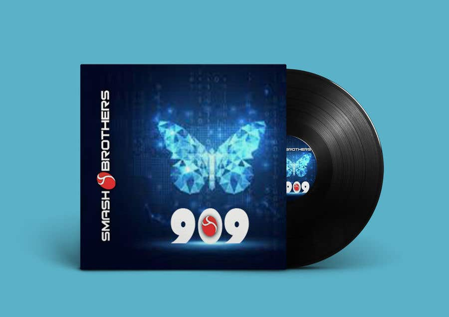 Kilpailutyö #                                        61                                      kilpailussa                                         Simple Track Cover for Techno Music Track