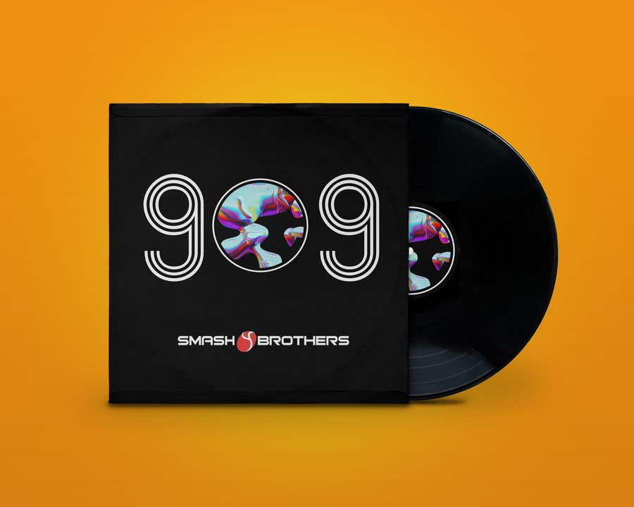 Kilpailutyö #                                        50                                      kilpailussa                                         Simple Track Cover for Techno Music Track