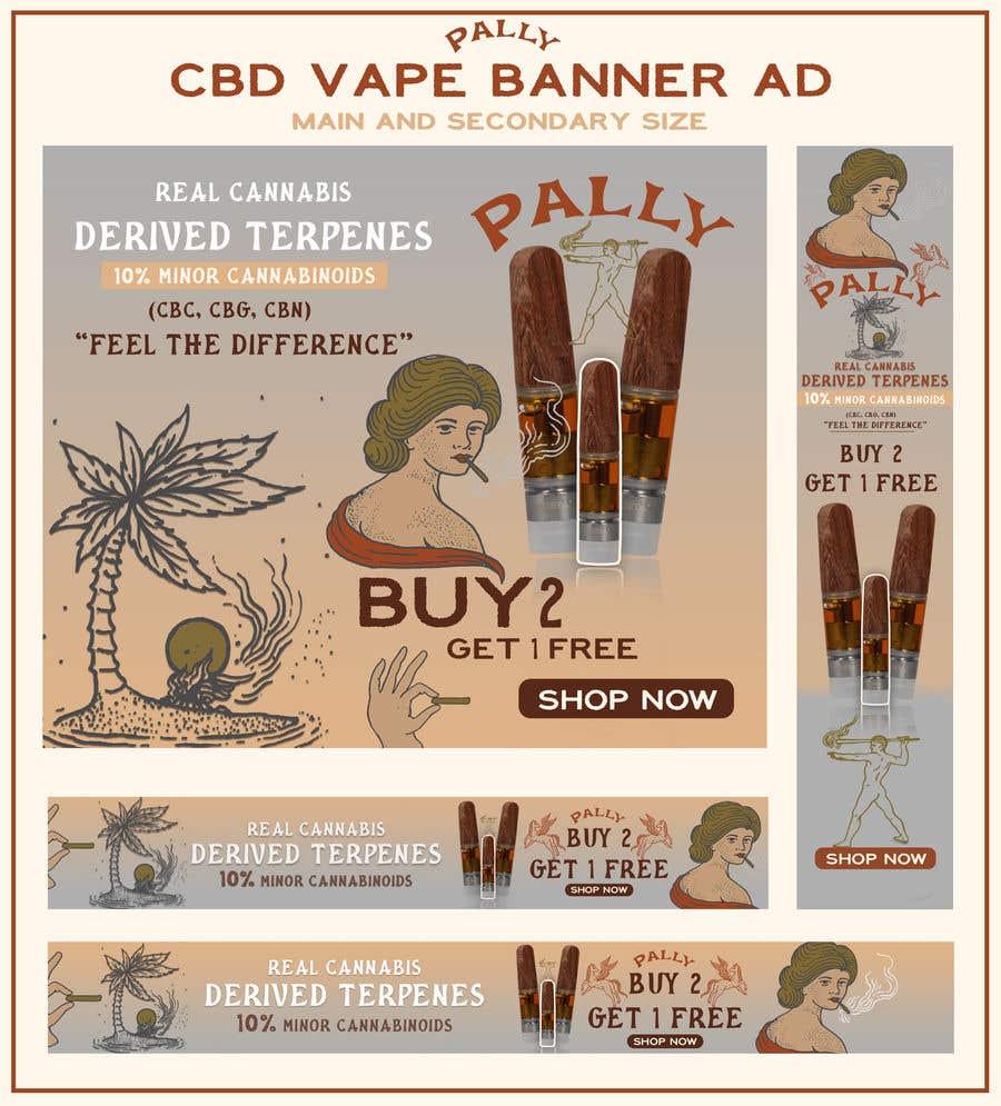 Kilpailutyö #                                        47                                      kilpailussa                                         CBD Vape Banner Ad