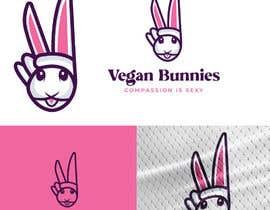 nº 132 pour Mascot Logo For Vegan Brand par greenmarkdesign