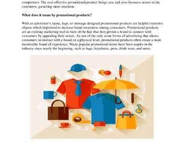 "#21 for Write a Blog ""The History of Promotional Products"" af NazmunNahar6"