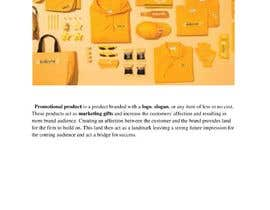 "#9 for Write a Blog ""The History of Promotional Products"" af mominanaseem01"