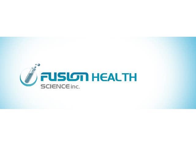 Конкурсная заявка №54 для Logo Design for Fusion Health Sciences Inc.