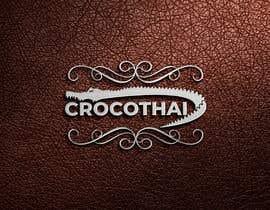 nº 150 pour Logo for crocodile leather products par salehakram342