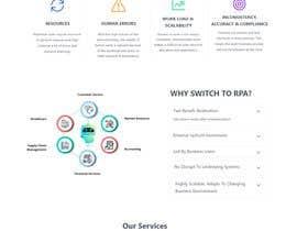 nº 4 pour Wordpress Creative Design for IT service company par metahazzot
