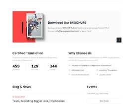 Nro 55 kilpailuun Web Design for Online Spanish Tutoring käyttäjältä GinoAlvaLeon1686