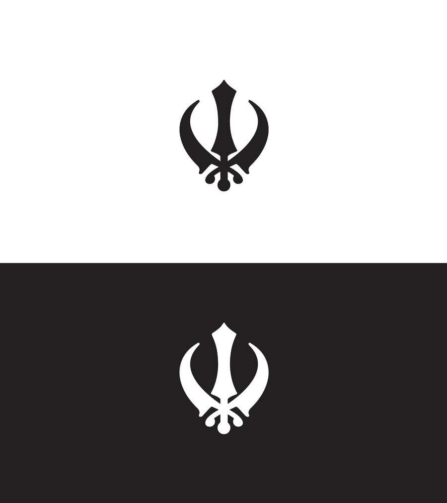 Proposition n°                                        3                                      du concours                                         Fitness logo inspired by the Khanda