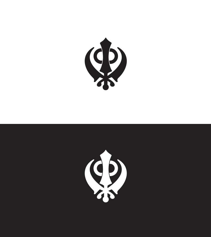 Proposition n°                                        4                                      du concours                                         Fitness logo inspired by the Khanda