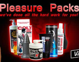 #48 for Design a Banner for my Adult Website (pleasure packs) by MintKK