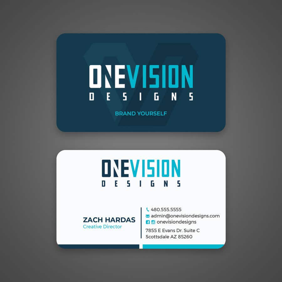 Contest Entry #                                        203                                      for                                         Professional Business Card Design