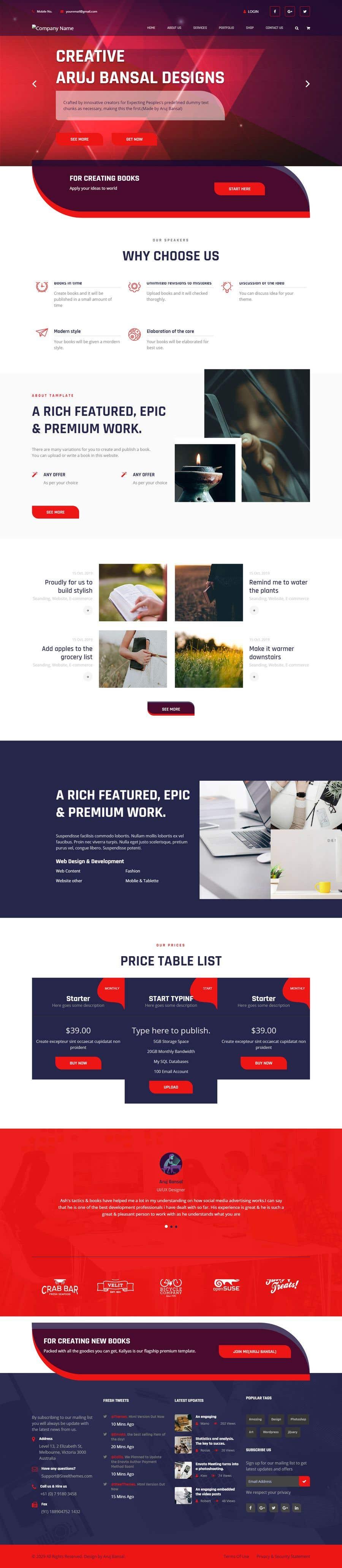 Konkurrenceindlæg #                                        20                                      for                                         Website Design