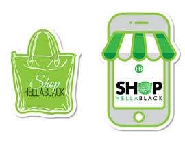 #17 for HellaBlack Sticker af QasimAs