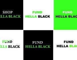 #26 for HellaBlack Sticker af MdElias20