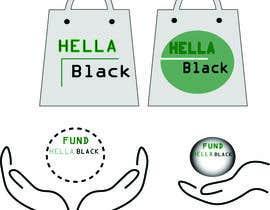 #20 for HellaBlack Sticker af Farhan24411