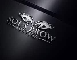 #38 for Logo for Sol's Brow Boutique af mdsorwar306