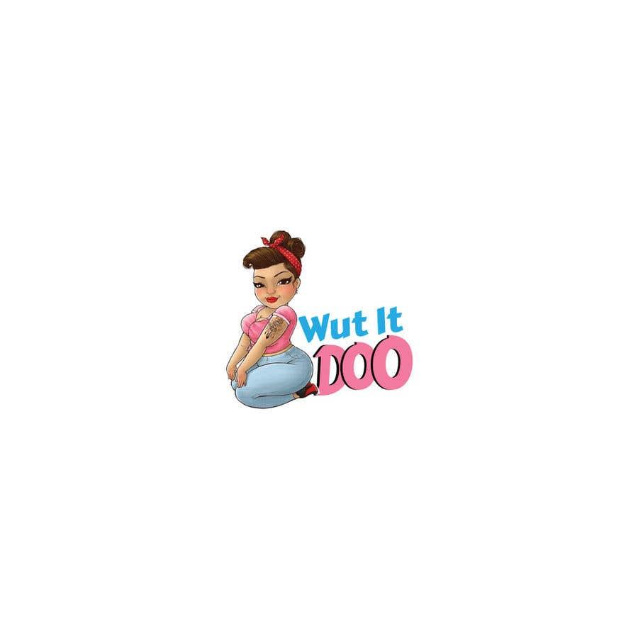 "Penyertaan Peraduan #                                        65                                      untuk                                         Looking  for a logo and a character saying ""Wut It Doo"""