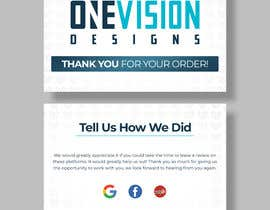 Nro 8 kilpailuun Create a Professional Post Card Designs for Reviews käyttäjältä Fazlul01