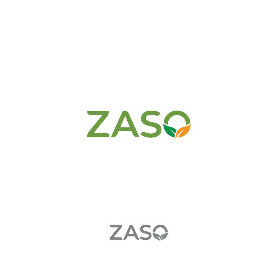 Penyertaan Peraduan #                                        102                                      untuk                                         Make me a logo with our brand name: ZASO