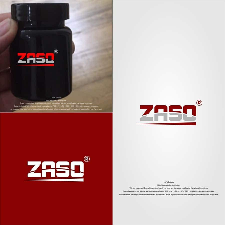 Penyertaan Peraduan #                                        13                                      untuk                                         Make me a logo with our brand name: ZASO