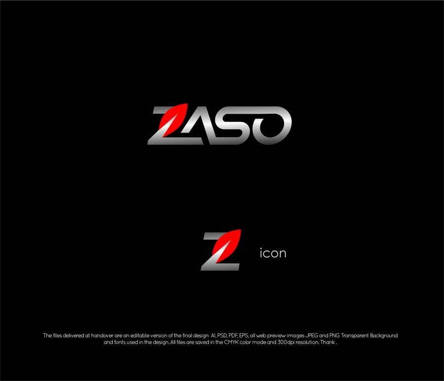 Penyertaan Peraduan #                                        217                                      untuk                                         Make me a logo with our brand name: ZASO