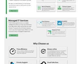 Nro 49 kilpailuun Corporate Profile - Website, Single Page Flyer Design & Email Marketing Newsletter käyttäjältä ahmedelsheikh245