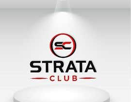 Nro 118 kilpailuun Strata Club Company Logo käyttäjältä farukcom60