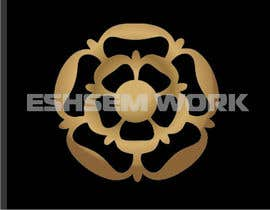 #5 untuk Design Tudor Rose as a Gold Emblem/Badge for Small Leather Goods oleh eshasem