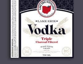 #87 for bottle lable af VisualandPrint