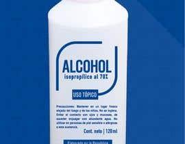 #18 para Diseño de etiqueta de Alcohol / Design label for alcohol (Serigrafia) de vmrdiez