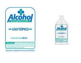 #8 para Diseño de etiqueta de Alcohol / Design label for alcohol (Serigrafia) de ajotam