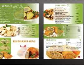 #26 for Refresh restaurant menu by sohanul09
