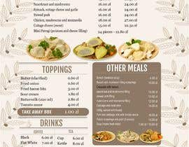 #27 for Refresh restaurant menu by Madhu42