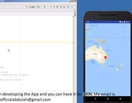 Nro 3 kilpailuun Android Simple Location App käyttäjältä Acesdesigns123