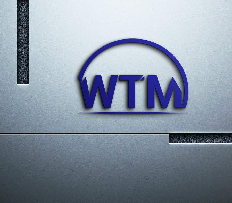 """Contest Entry #                                        125                                      for                                         Create a company logo with the letters """"WTM"""" in it."""