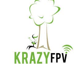 """#35 for Design a Logo for """"Krazy FPV"""" by EtienneV"""