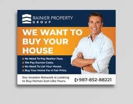 #657 para Design Real Estate Postcard por Uttamkumar01