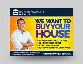 #660 para Design Real Estate Postcard por rajeshrajee611