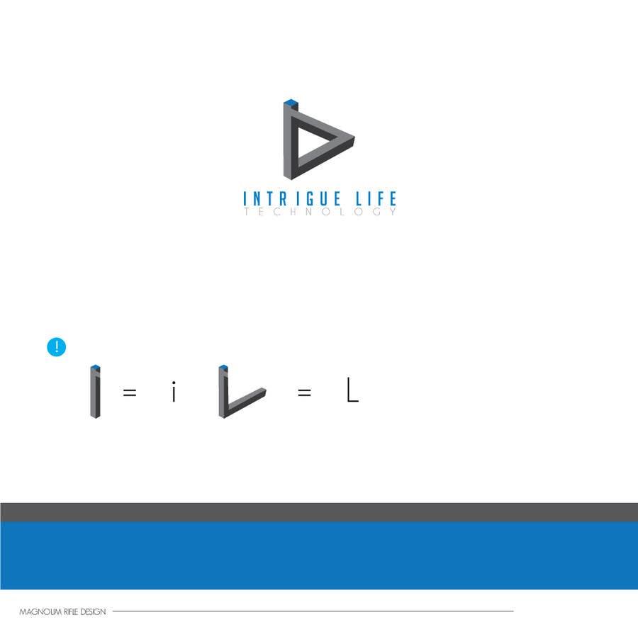 "Kilpailutyö #67 kilpailussa Design a Logo for Technology Company ""Intrigue Life"""